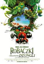 Plakat filmu Robaczki z zaginionej dżungli